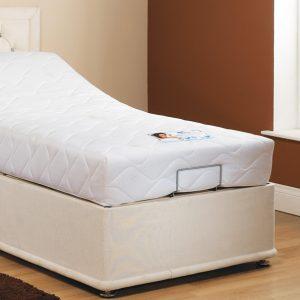 Adjustable single bed